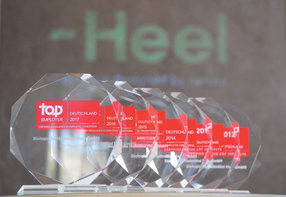The Top Employers Institute has awarded Heel Top Employer for the eigth time in succession. Photo: Heel.