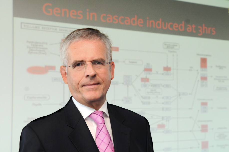 Dr. Bernd Seilheimer, Head of Bioregulatory Development at Heel in Baden-Baden, has had the biological processes during an inflammation completely observed with the help of modern genome research.
